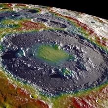 Similar impact on the moon