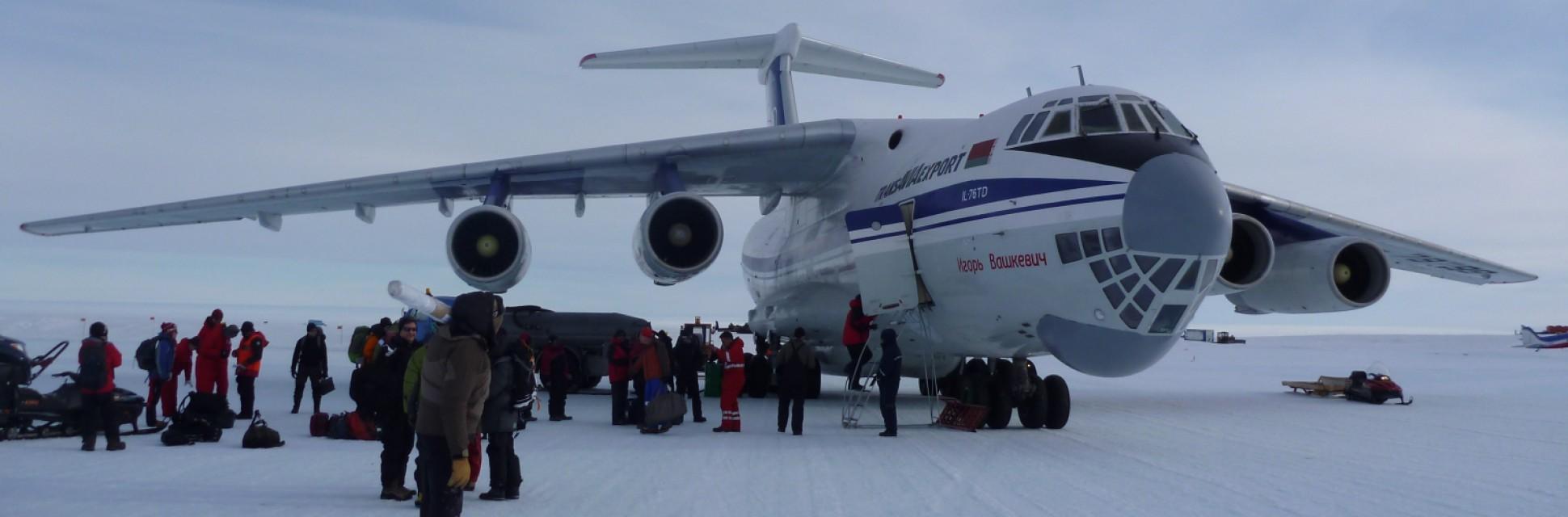 Expeditie in Antarctica